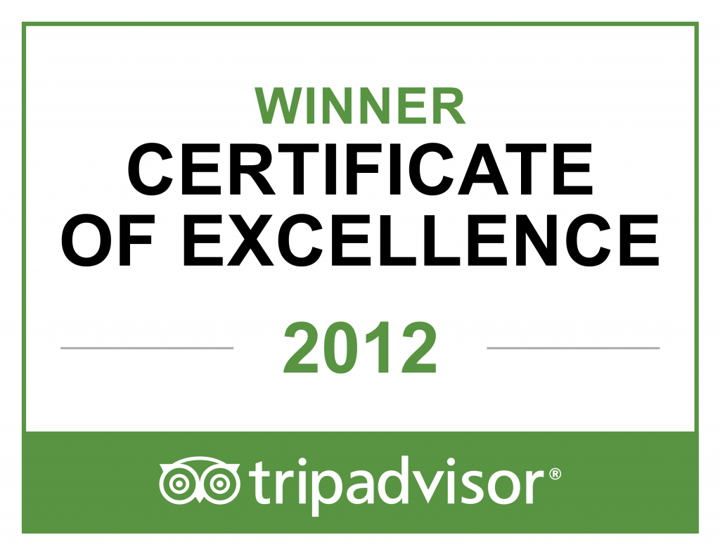 TripAdvisor Excellence Badge 