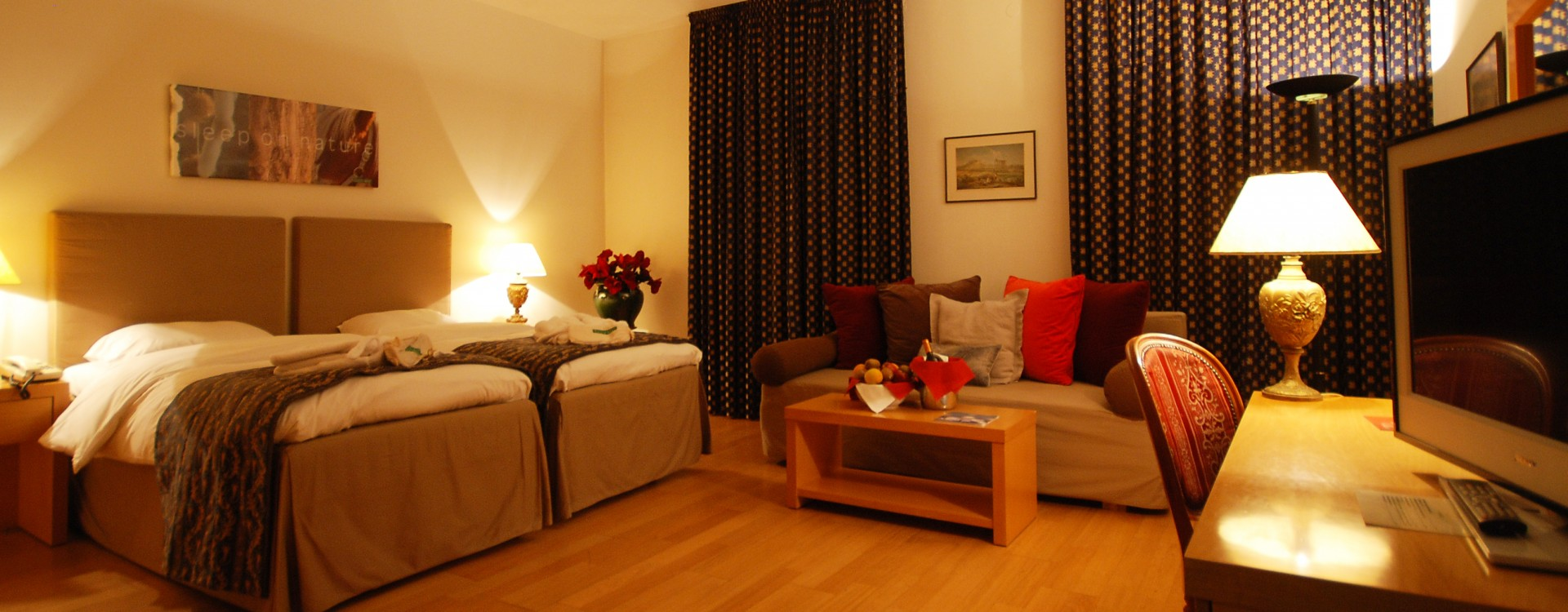 Feel comfortable in our rooms